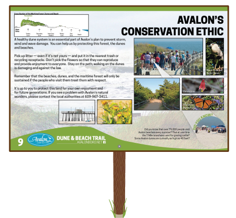 Avalons-Conservation-Ethic-Sign